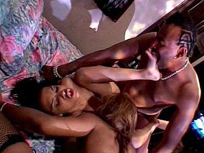 Cock Sharing Ebony Hotties